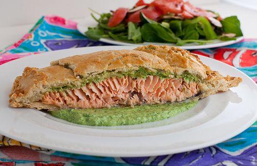 Salmon en croute | Yummy..... I love food! | Pinterest