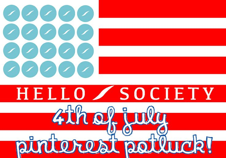 4th july potluck invitation