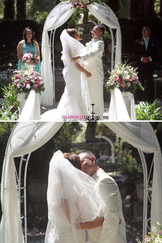 explore first kiss wedding