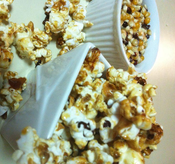 Bacon Goat Milk Caramel Popcorn | farm fresh | Pinterest