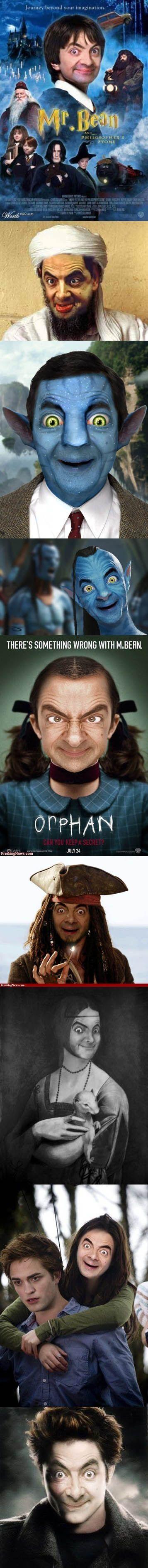 haha... Mr. Bean.