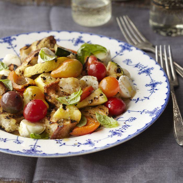 Kelsey Nixon's Grilled Vegetable Panzanella