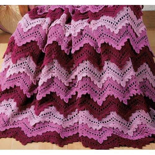 Red Heart Free Crochet Ripple Afghan Patterns : ripple stitch crochet afghan patterns