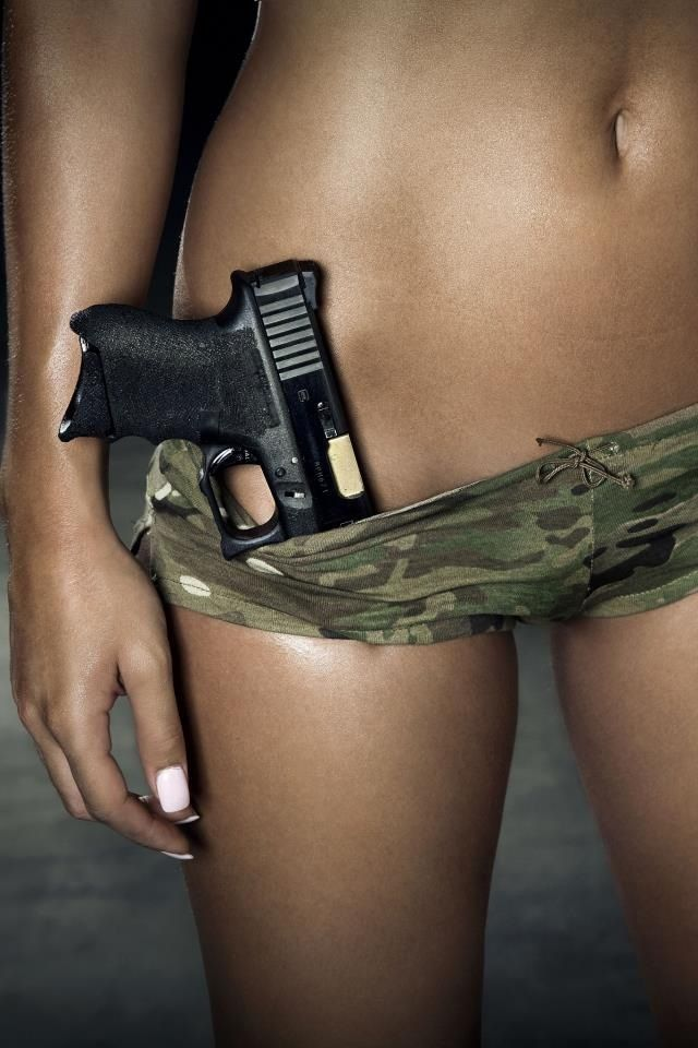 Pity, that Hot girls with guns apologise