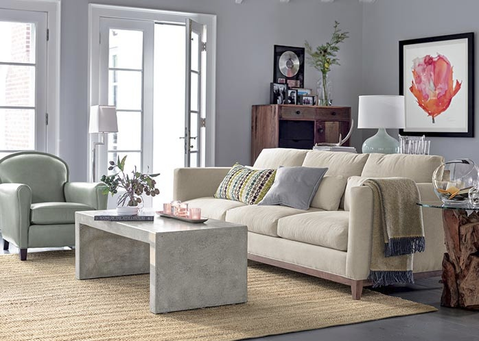 crate and barrel living room decor we like pinterest