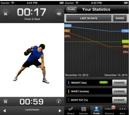 best gym tracking app ios