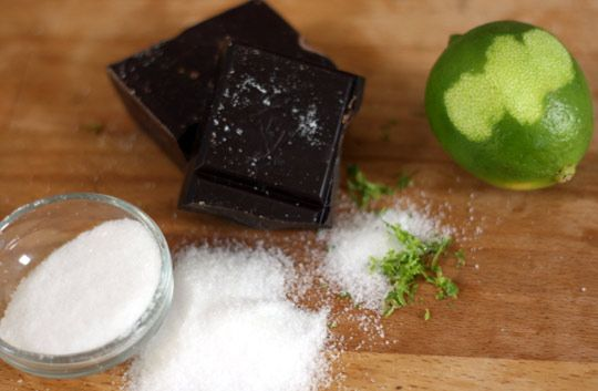 Extra-Dark Brownies with Sea Salt & Lime | Recipe
