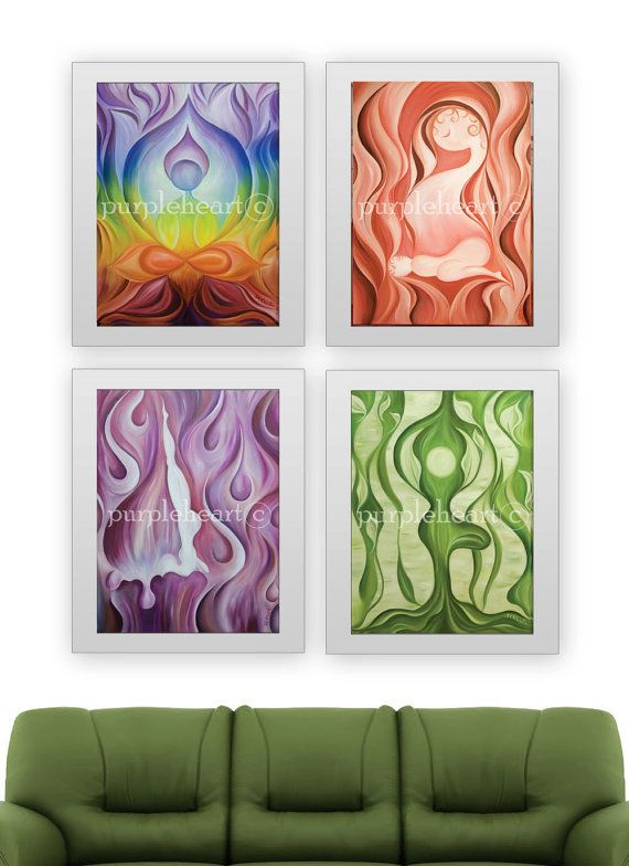 yoga series lotus home decor yoga studio decor 11x14