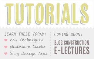 the word tutorials - font