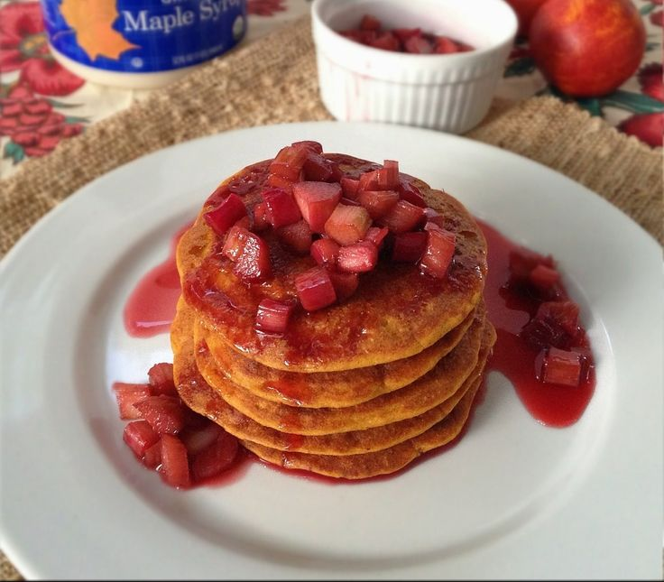 Sweet Potato Pancakes (vegan, gluten-free)