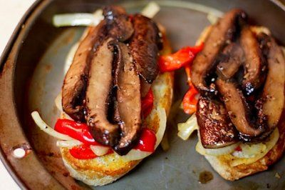 Portabella Cheesesteaks by Back to Her Roots. I made this recipe a ...