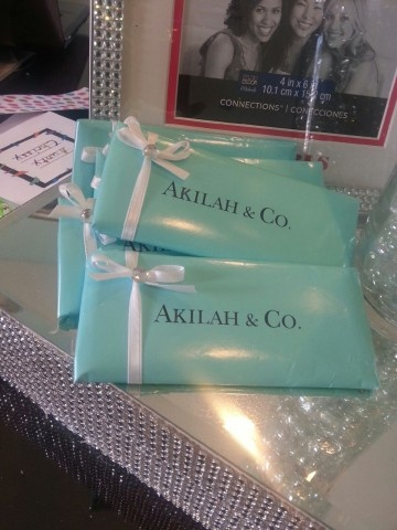 Personalized tiffany chocolate bars favors candy buffet weddingbee