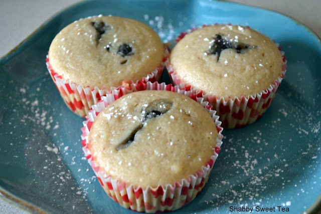 Jelly Donut Cupcakes....y'all will love them! http://shabbysweettea ...