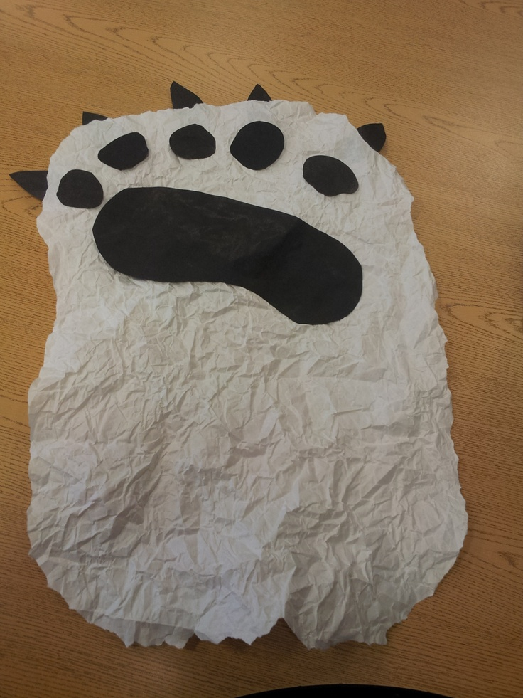 bear fun arctic and antarctic animals preschool theme pinterest