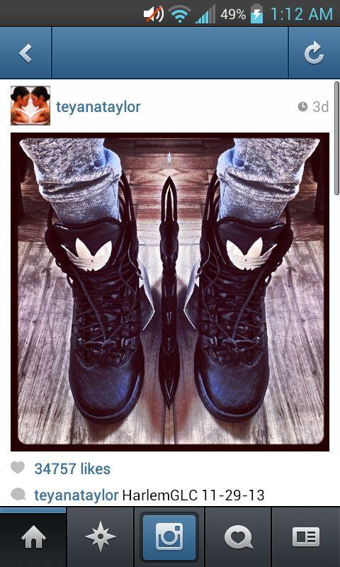 Teyanna Taylors shoes