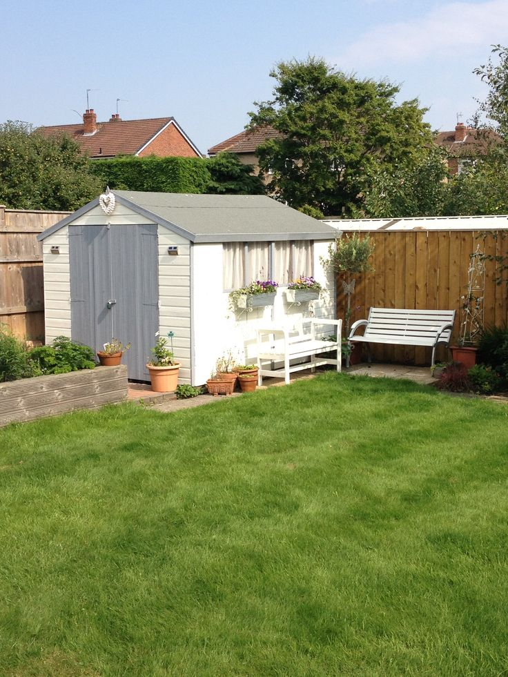 Our finished shed | Shed ideas | Pinterest
