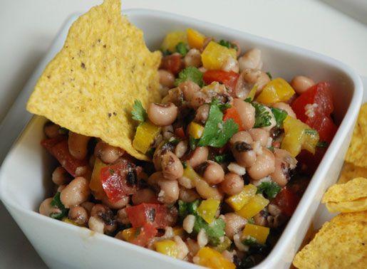 Black-Eyed Pea Salsa | Appetizers | Pinterest
