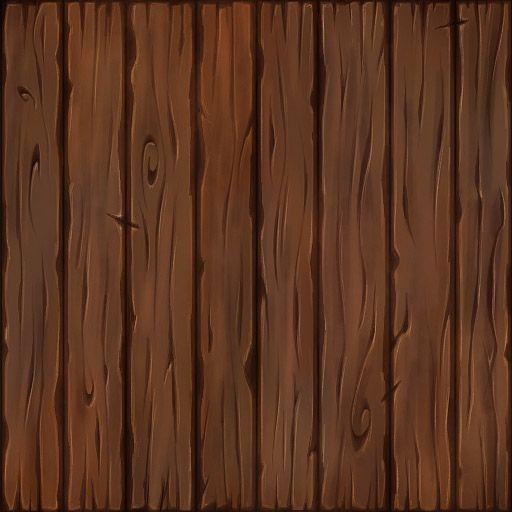 Cartoon wood texture