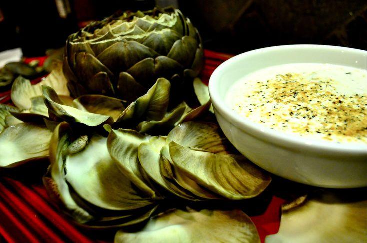 Artichoke and lemon pepper dip!   Paleo/Primal - No Cheese   Pinterest