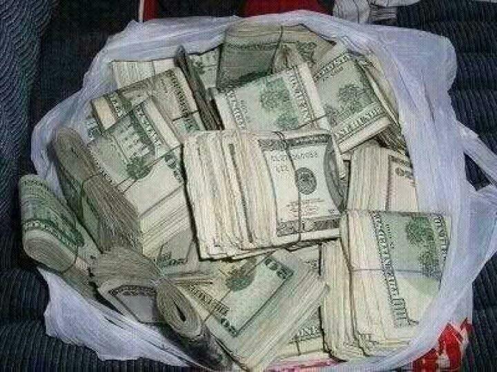 Cash, cold hard cash!