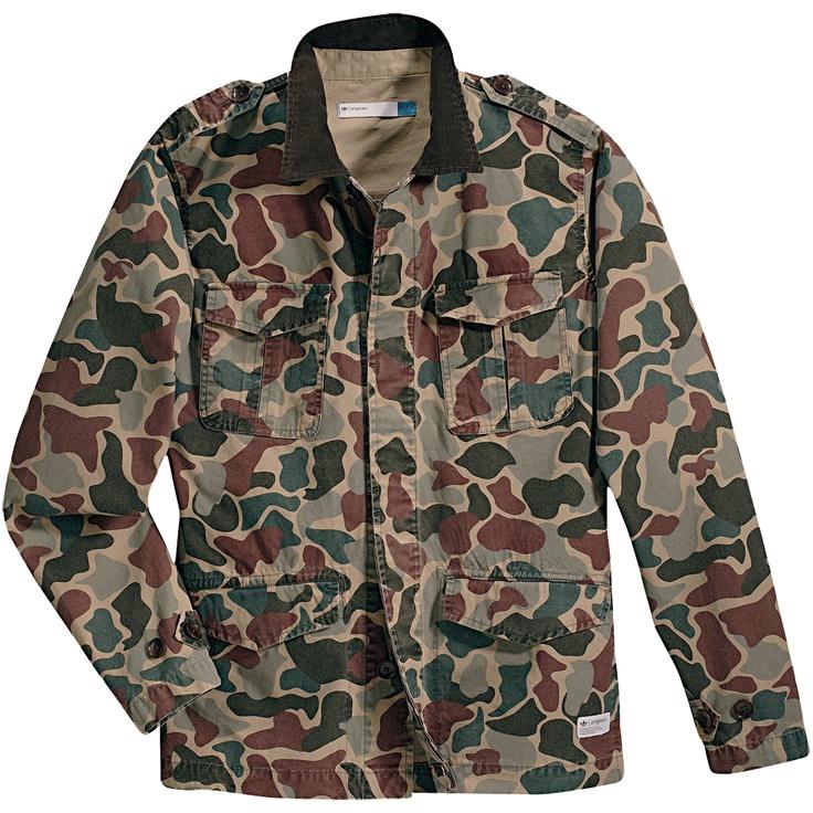 camo safari jacket adidas products i love pinterest. Black Bedroom Furniture Sets. Home Design Ideas