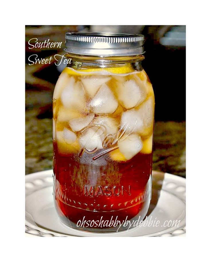 Southern Sweet Tea, with one secret ingredient.. At ohsoshabbybydebbie ...