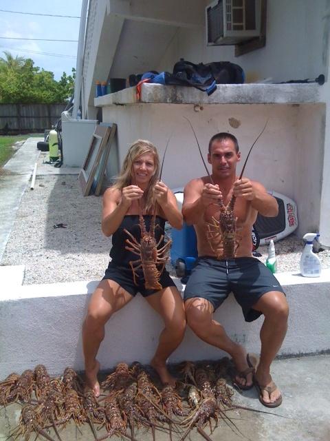 Great day for lobstering | Florida Keys Fishing | Pinterest