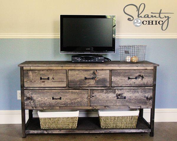 diy rustic tv stand barn wood pinterest. Black Bedroom Furniture Sets. Home Design Ideas