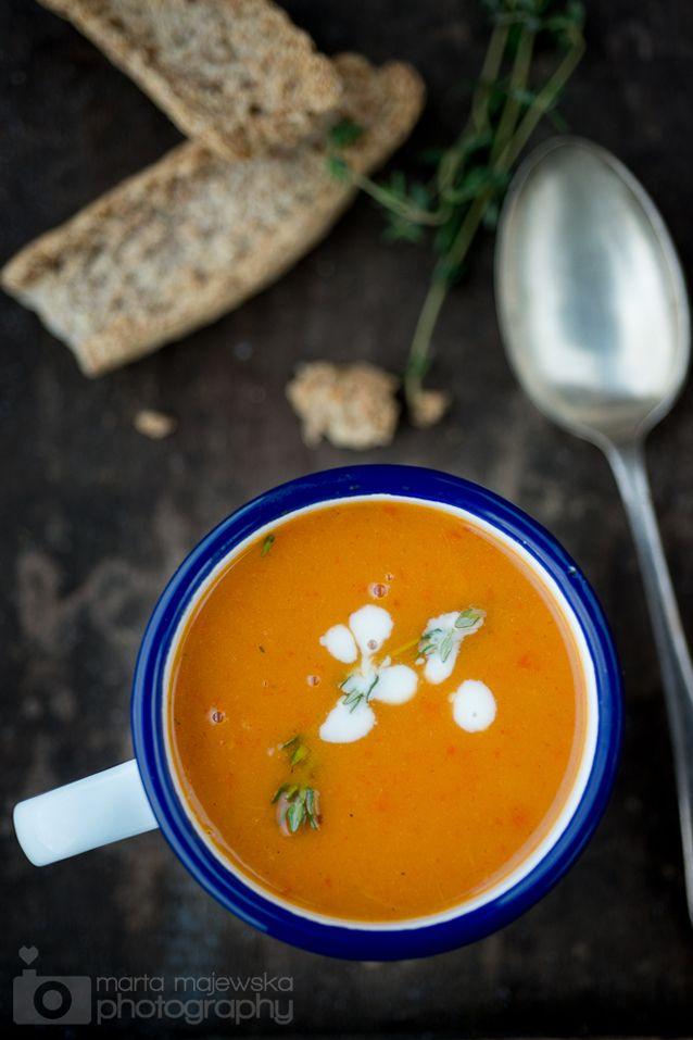 Sweet Potato & Roasted Pepper Soup Ingredients 1l vegetable boullion 3 ...
