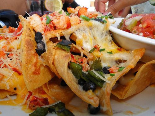 SEAFOOD NACHOS | DINING OUT /GOOD TO GO =YUM | Pinterest