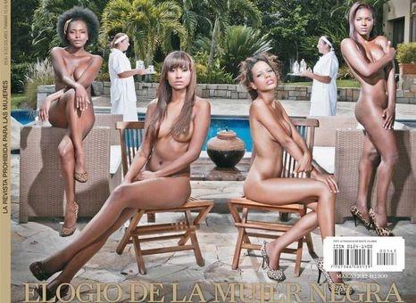 Negras Desnudas O Sirvientas La Guerra De Las Revistas