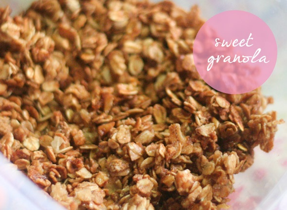 Homemade Granola | Odd Sweeties | Pinterest