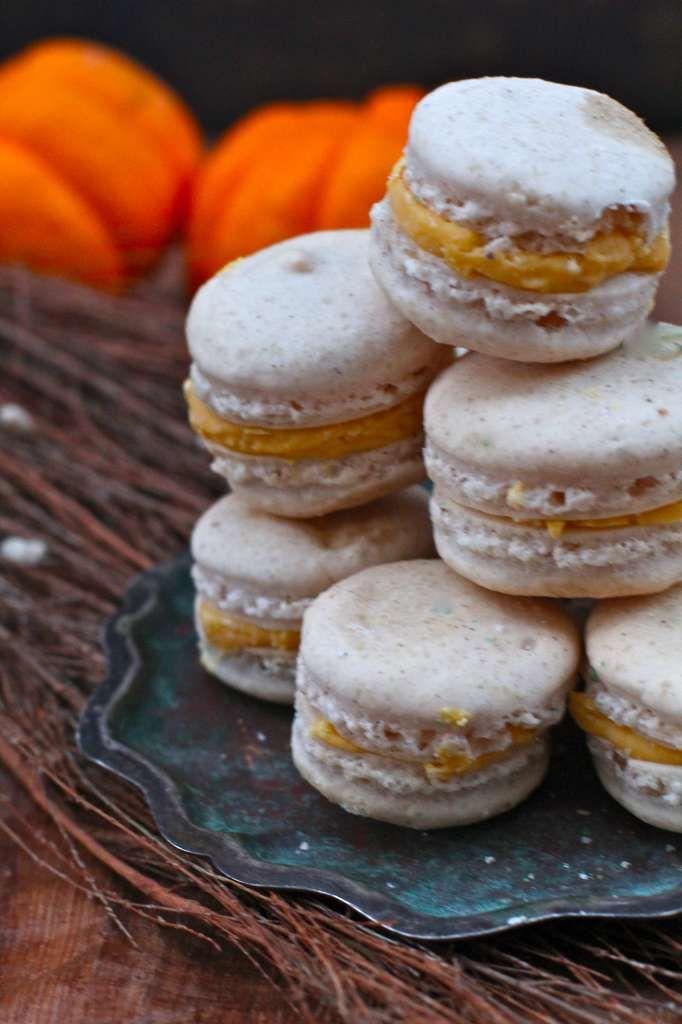 Pumpkin Spice Macarons | X-mas party | Pinterest