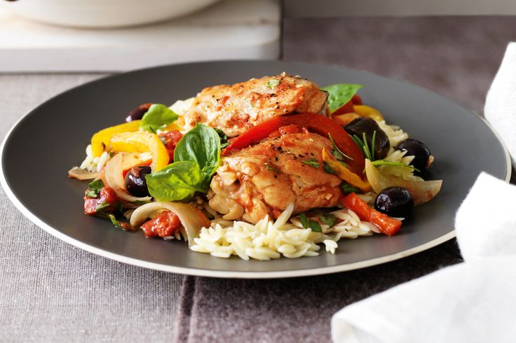 Slow Cooked chicken ratatouille | I quit sugar | Pinterest
