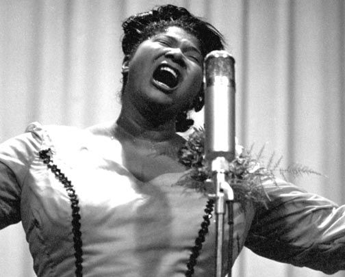 Singer/Civil Rights Activist Mahalia Jackson