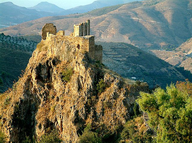 Lanjaron Spain  city photos : ... , Andalucia: the Moorish Castle | Andalusia , Spain | Pintere