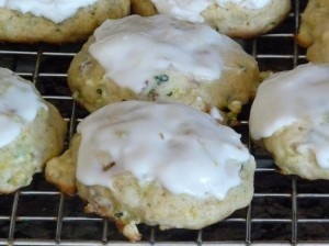 Zucchini Lemon Cookies. These are delicious! I modified the frosting a ...