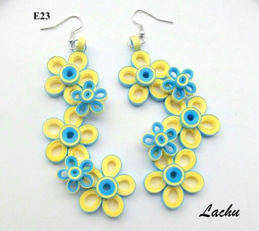 Quilling earrings | quilling:X | Pinterest