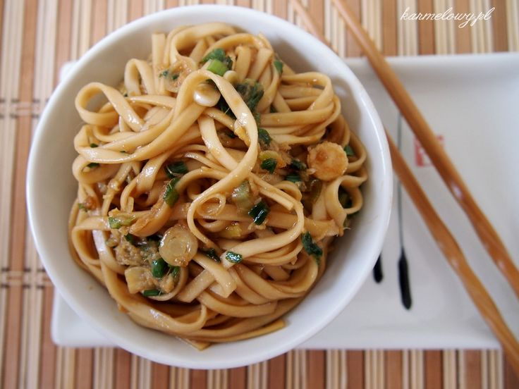 Ginger soy noodles. Delicious but I used a ginger soy sauce to dress ...