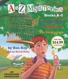 To z mysteries books a c ron roy david pittu 9780307916310