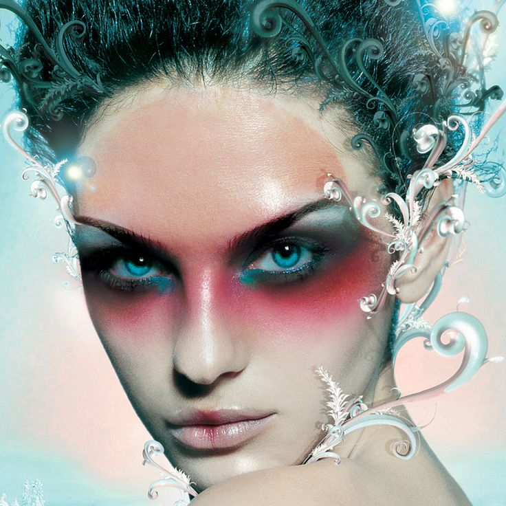Make-up Face Extreme Body Art. | fashion :) | Pinterest