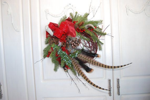 Pinterest discover and save creative ideas for Antler christmas wreath