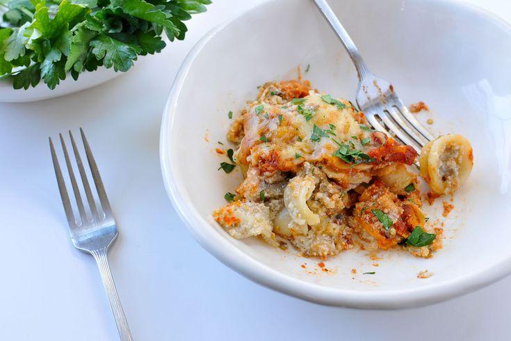 Eggplant-Ricotta Pasta Bake | D'lish | Pinterest