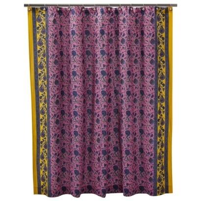 boho shower curtain images