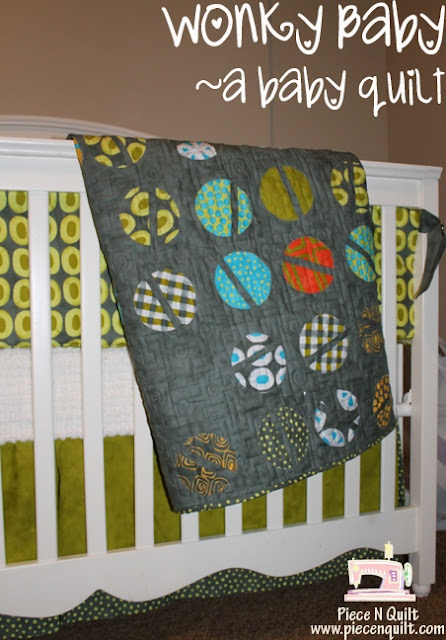 wonky baby - a baby quilt (moda bakeshop) @Theresa Heethuis: this one is cute too!