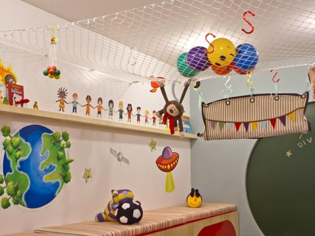 decoracao de sala infantil escola dominical : decoracao de sala infantil escola dominical:Sala para crianças: veja ideias criativas em fotos do 'Decora