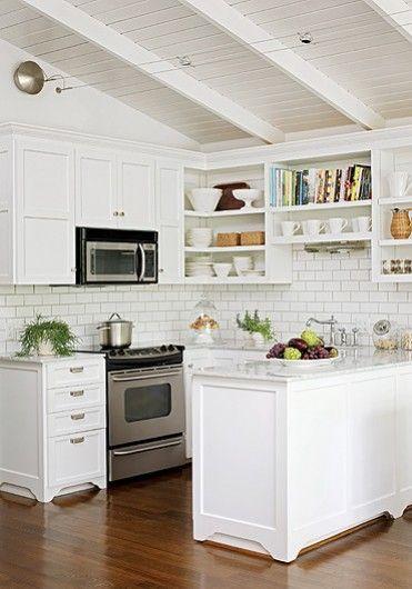 small cottage kitchen cottages Pinterest