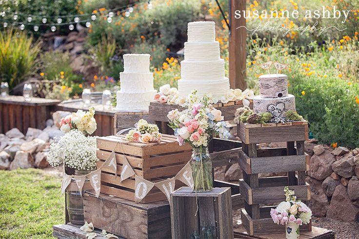 Wedding Cake Ideas For Outdoor Weddings : Outdoor rustic wedding Wedding cakes Pinterest