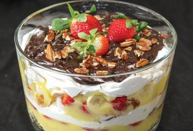 Banana Split Cake Trifle As Well As Banana Split Trifle Also Banana ...