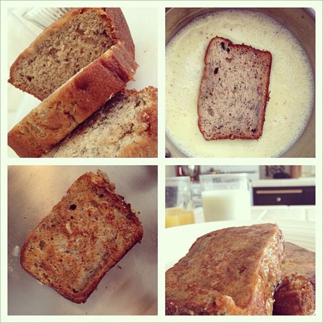 Banana Bread French Toast | I Wish I Could Stay Home And Cook For You ...